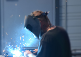 Welding know-how for bowl feeder manufacture